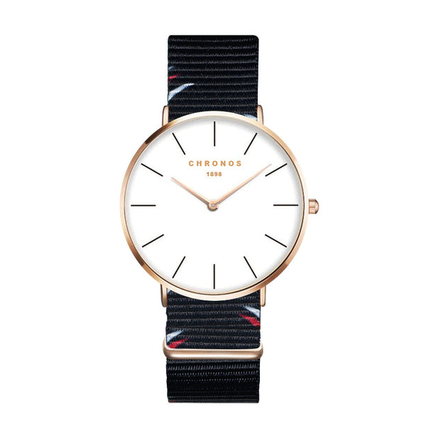 CHRONOS CH20 Rose Gold Case Unisex Wrist Watch