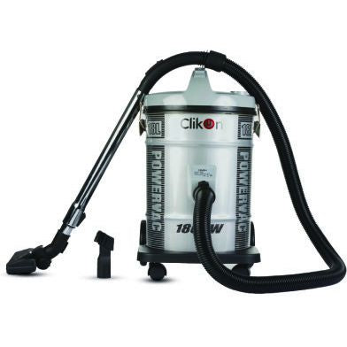 CLICON VACCUM CLEANER 18 LTR SILVER 1800 WATTS - CK4012