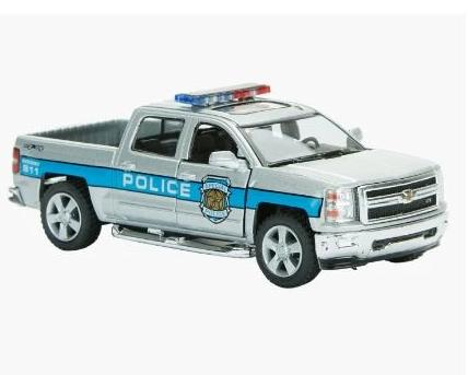 KiNSMART 2014 Chevrolet Silverado Toy Car