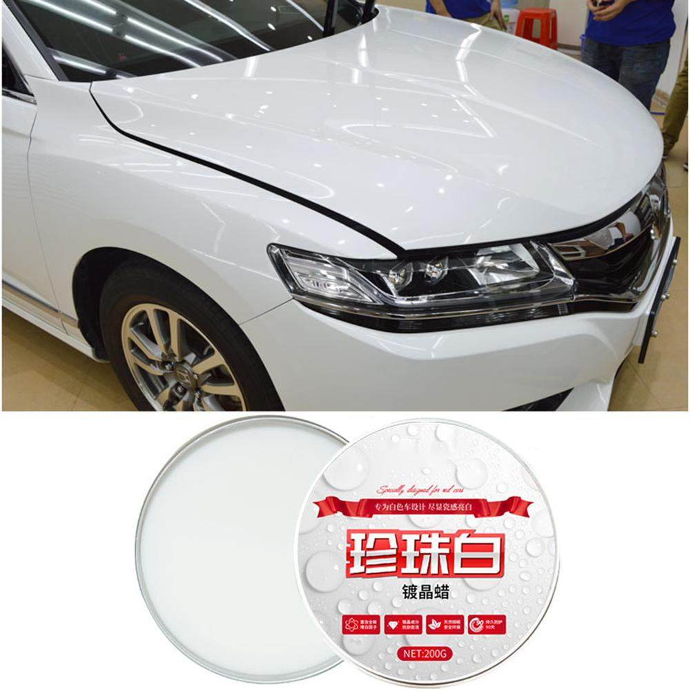 Car Scratch Remover White Wax Care Paint Waterproof Care Scratch Repair Car Styling Crystal Hard Car Wax Polish Scratch