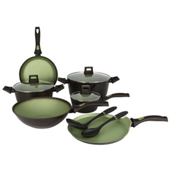 Chefline Cookware Set Avacado FAK 11pcs