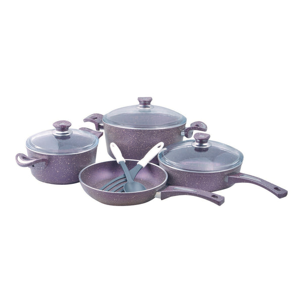 Chefline Granite Cookware Set 9pcs