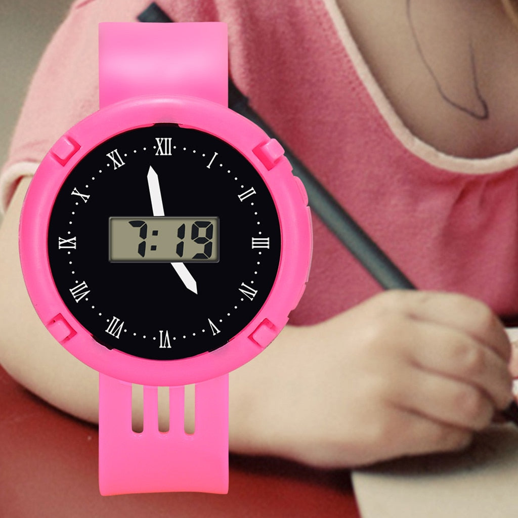 Children Watch New Sports Kids Watches Waterproof Quartz Clock Bracelet Silicone Wristwatches For Boys And Girls Reloj Nino LD