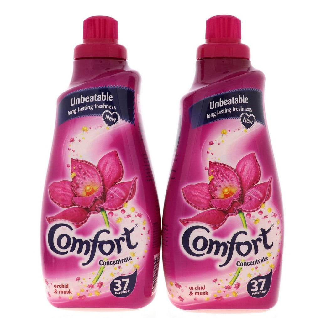 Comfort Concentrate Orchid And Musk Fabric Softner 2 x 1.5Litre