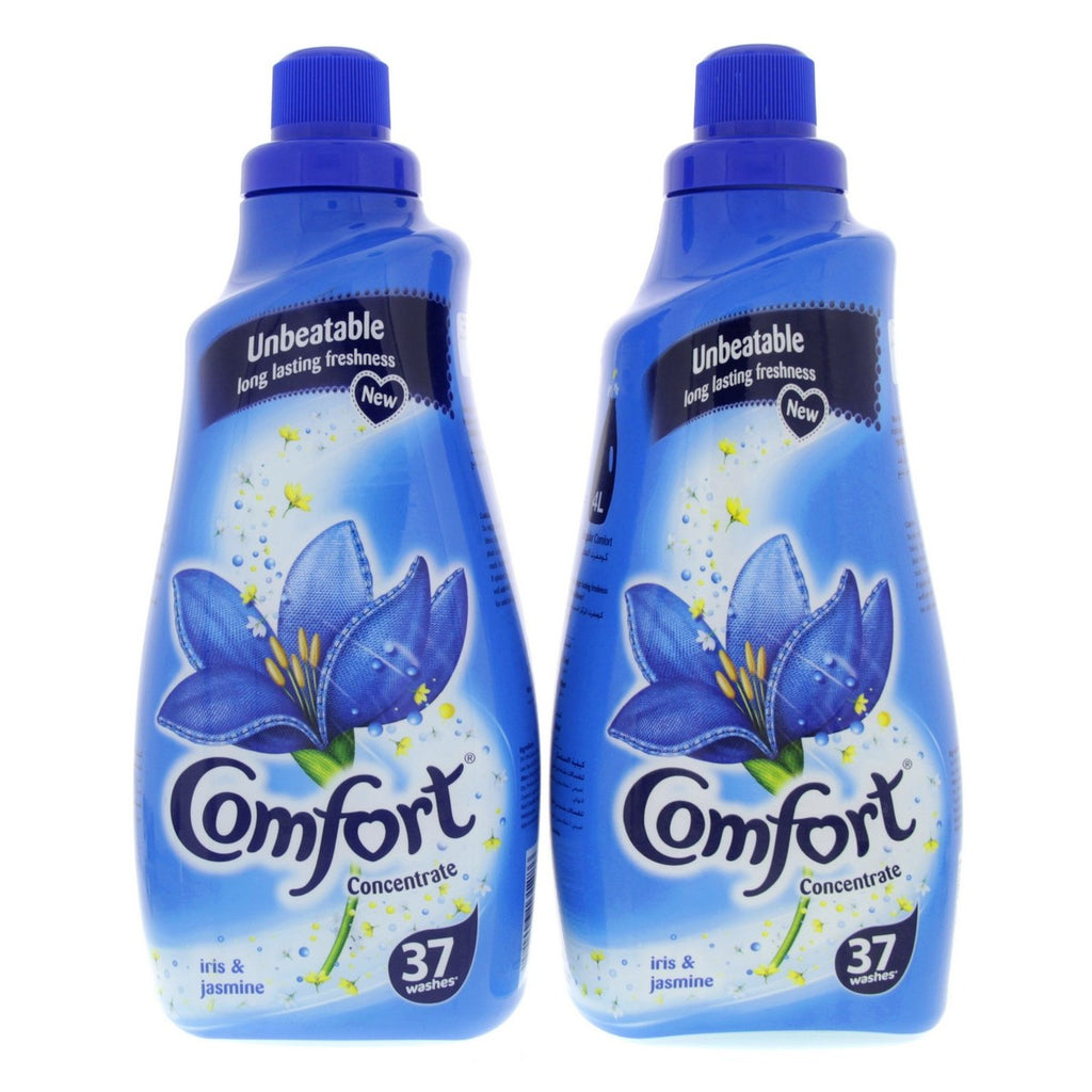 Comfort Iris and Jasmine Concentrated Fabric Conditioner 1.5Litre x 2pcs