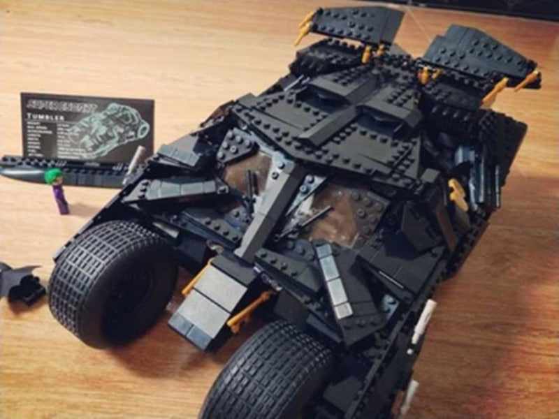 DHL 07060 Super Hero Movie Series The Tumbler Batman Armored Chariot Set 76023 Building Block Bricks Toys for children