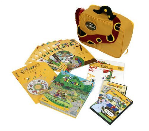 My Jolly Phonics - Case ، Jolly Song ، Dvd ، Jolly Stories ، 7 Books Activity