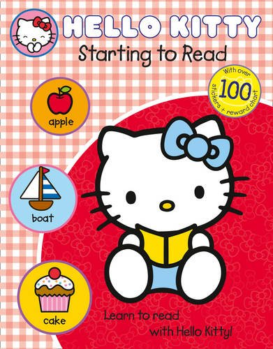Hello Kitty Starting To Read With Over 100 Stickers