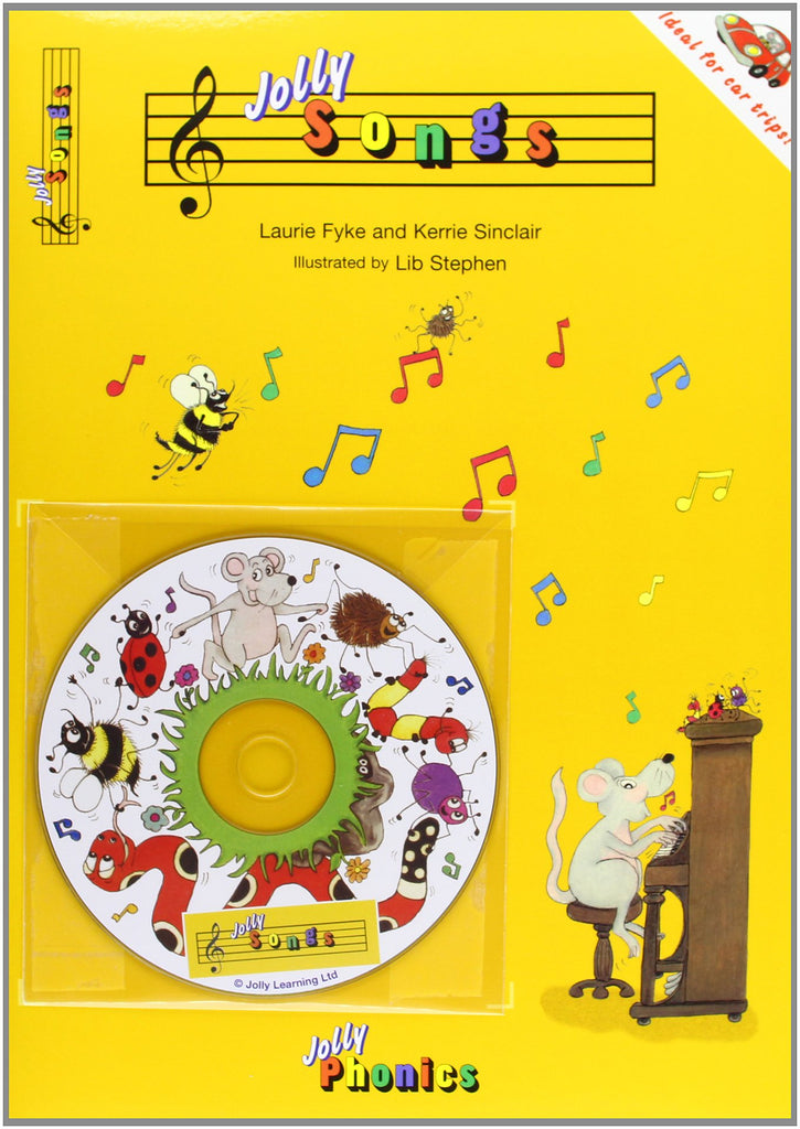 Jolly Songs Book & Cd