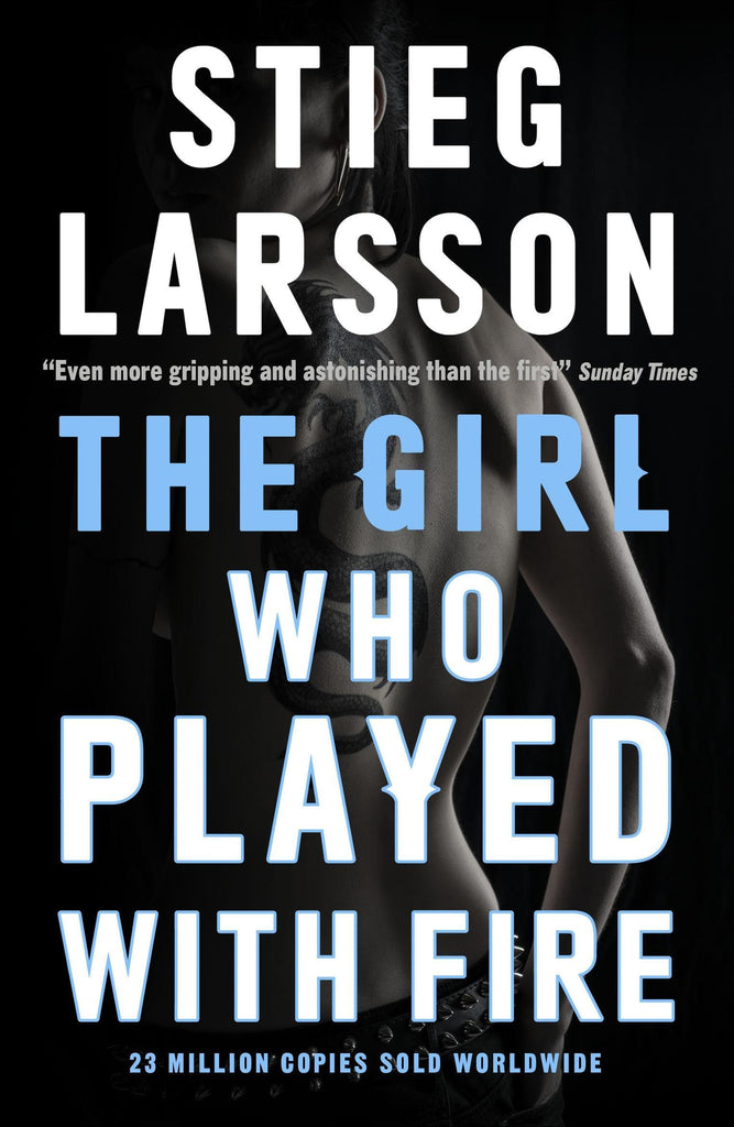 THE GIRL WHO PLAYED WITH FIRE BOOK 2