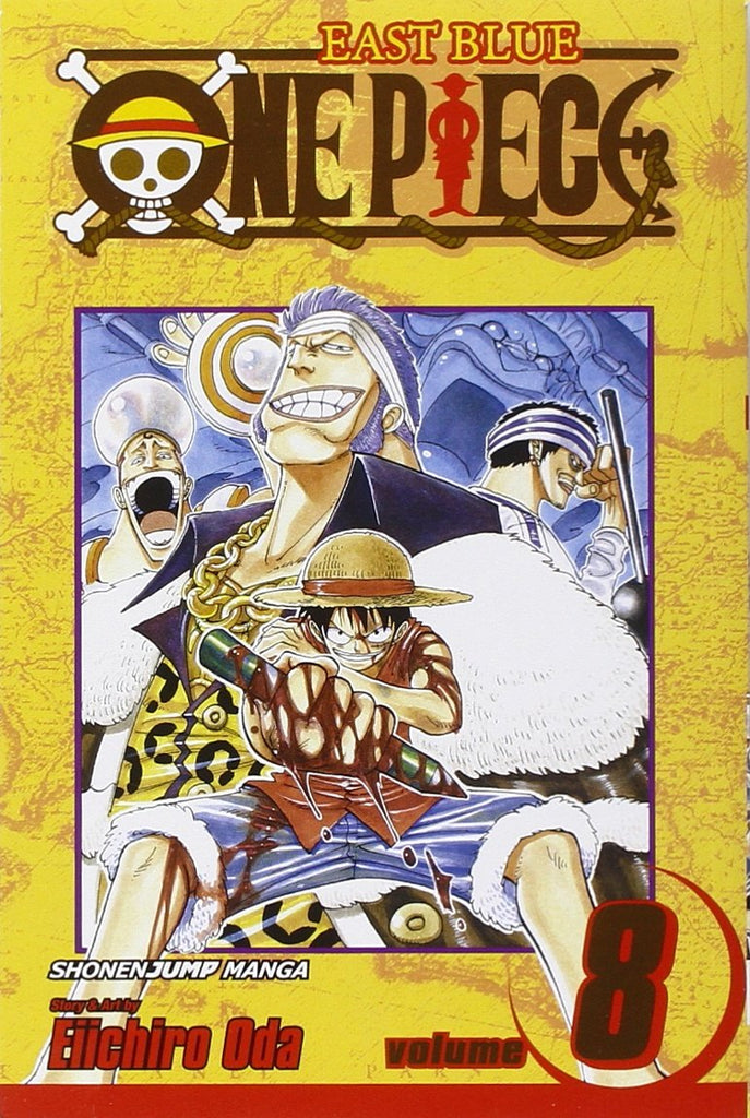 ONE PIECE  VOL. 8