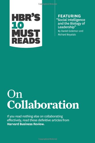 HBRS 10 MUST READS-COLLABORATION