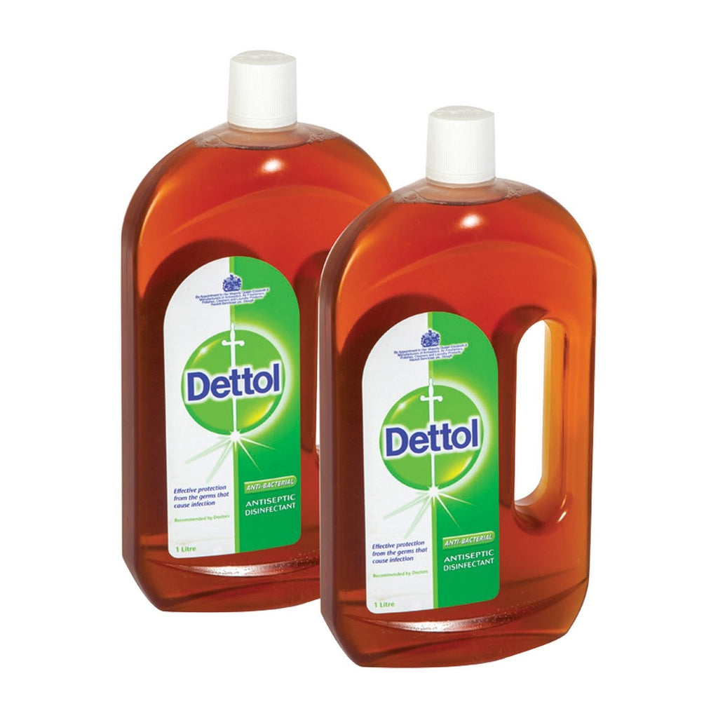 Dettol Anti Bacterial Antiseptic Disinfectant 2 x 1Litre