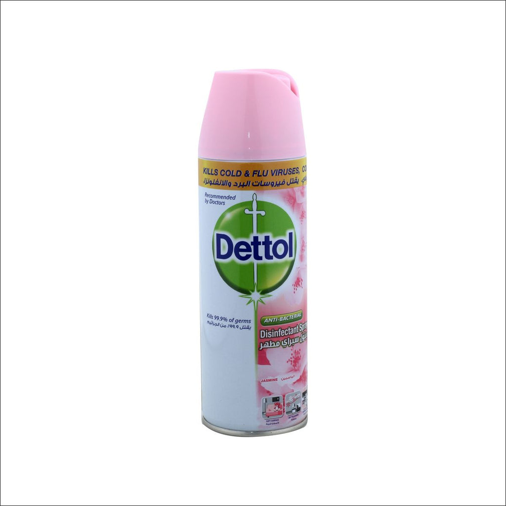 Dettol Anti-Bacterial Disinfectant Spray Jasmine 450ml