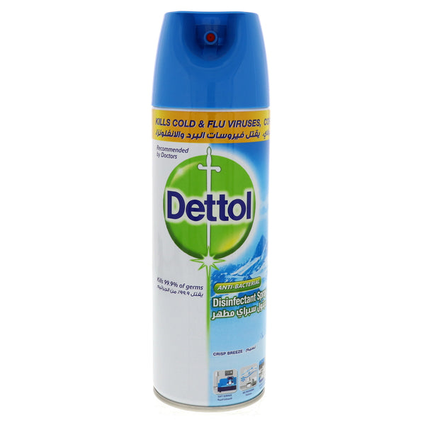Dettol Anti Bacterial Surface Crisp Breeze Spray 450ml