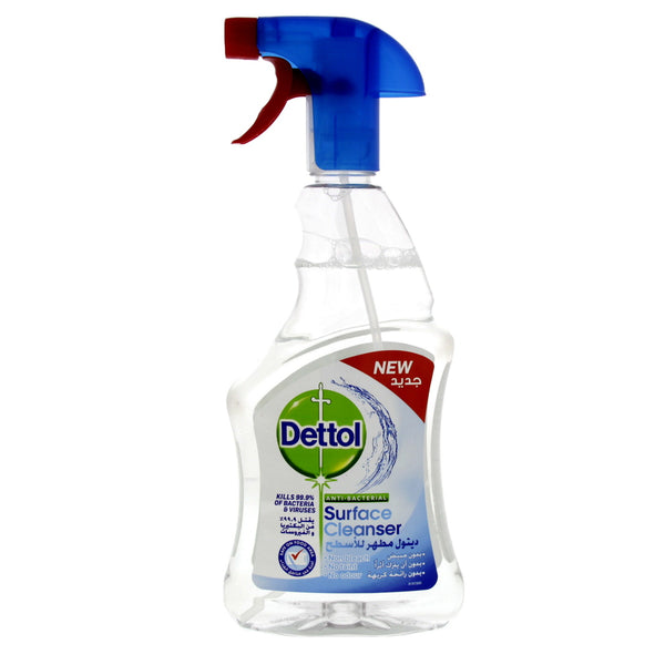 Dettol Disinfectant Anti-Bacterial Clear Surface Cleanser Trigger 500ml