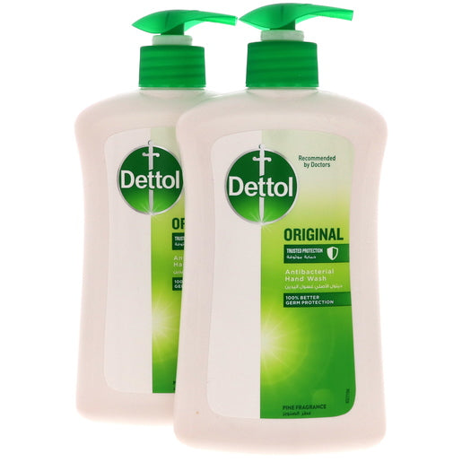 Dettol Original Antibacterial Hand Wash 2 x 400ml