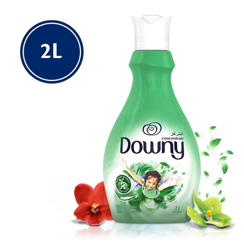 Downy Concentrate Fabric Softener Dream Garden 2Litre
