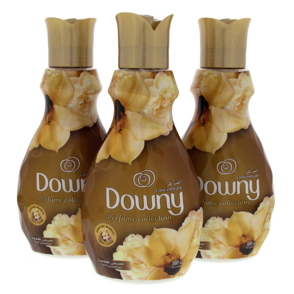 Downy Perfume Collection Feel Luxurious 880ml x 3pcs