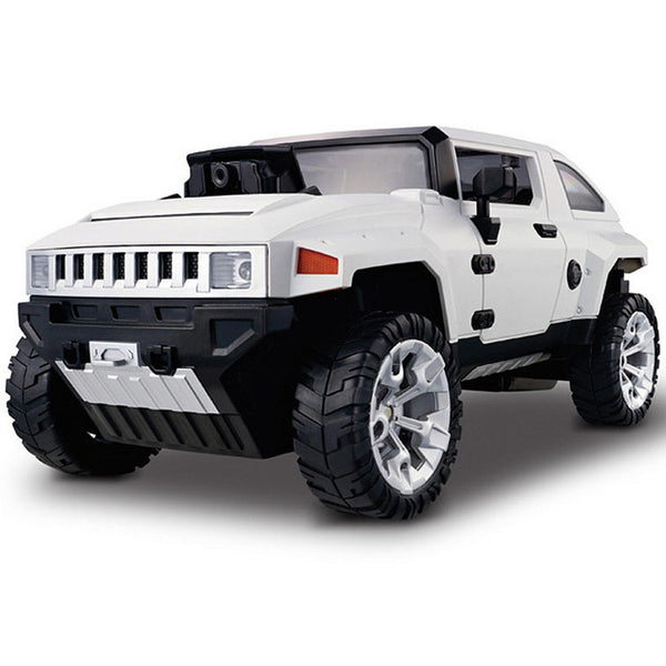 Drive Hummer Wi-Fi Controlled Real-Time Streaming Video Car Toy GT-330C White