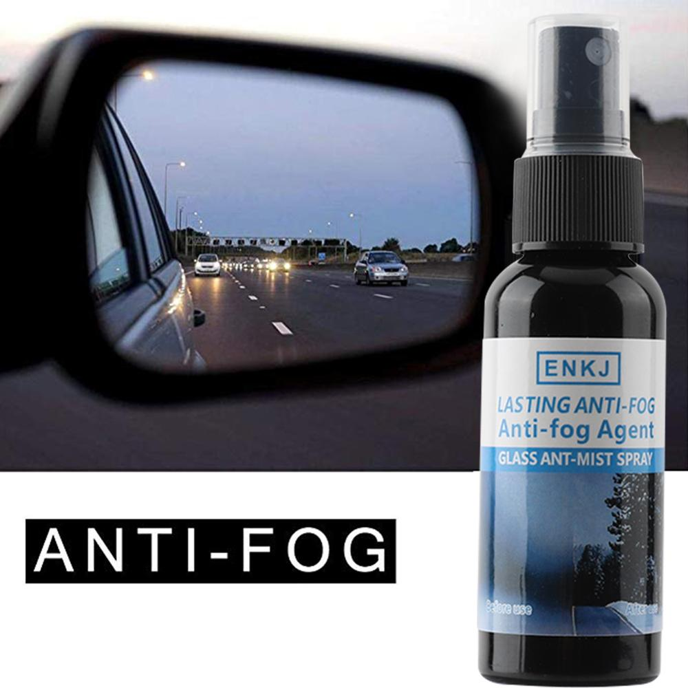 ENKJ 50ML Super Hydrophobic Car Window Glass Anti-fog Agent Anti-rain Spray Car RearView Mirror Waterproof Auto Care Accessories