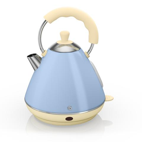Swan Retro Pyramid Electric Kettle 2lt