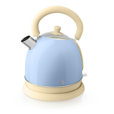 Swan Retro Dome Electric Kettle Blue