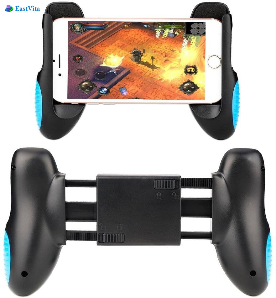 Eastvita PUBG Mobile Game Phone Gamepad Controller Gaming Joystick Game Pad Handle Stand Stand Holder for iphone android phones