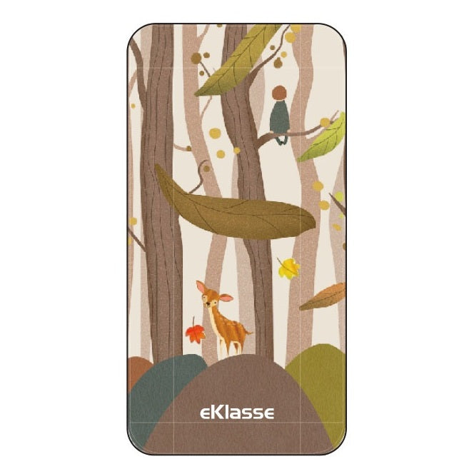 Eklasse Forest Print Power Bank 10000mAh - EKPB10020PT