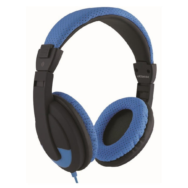 Eklasse Wired Headphone Blue/Black EKWHP06VC