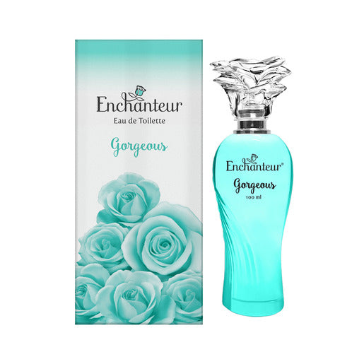 Enchanteur Gorgeous Eau De Toilette Perfume for Women 100ml