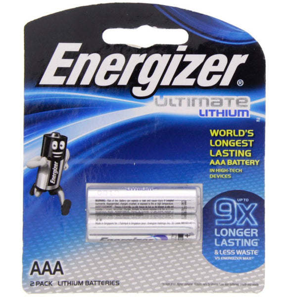 بطارية Energizer Ultimate Lithium AAA L92BP2