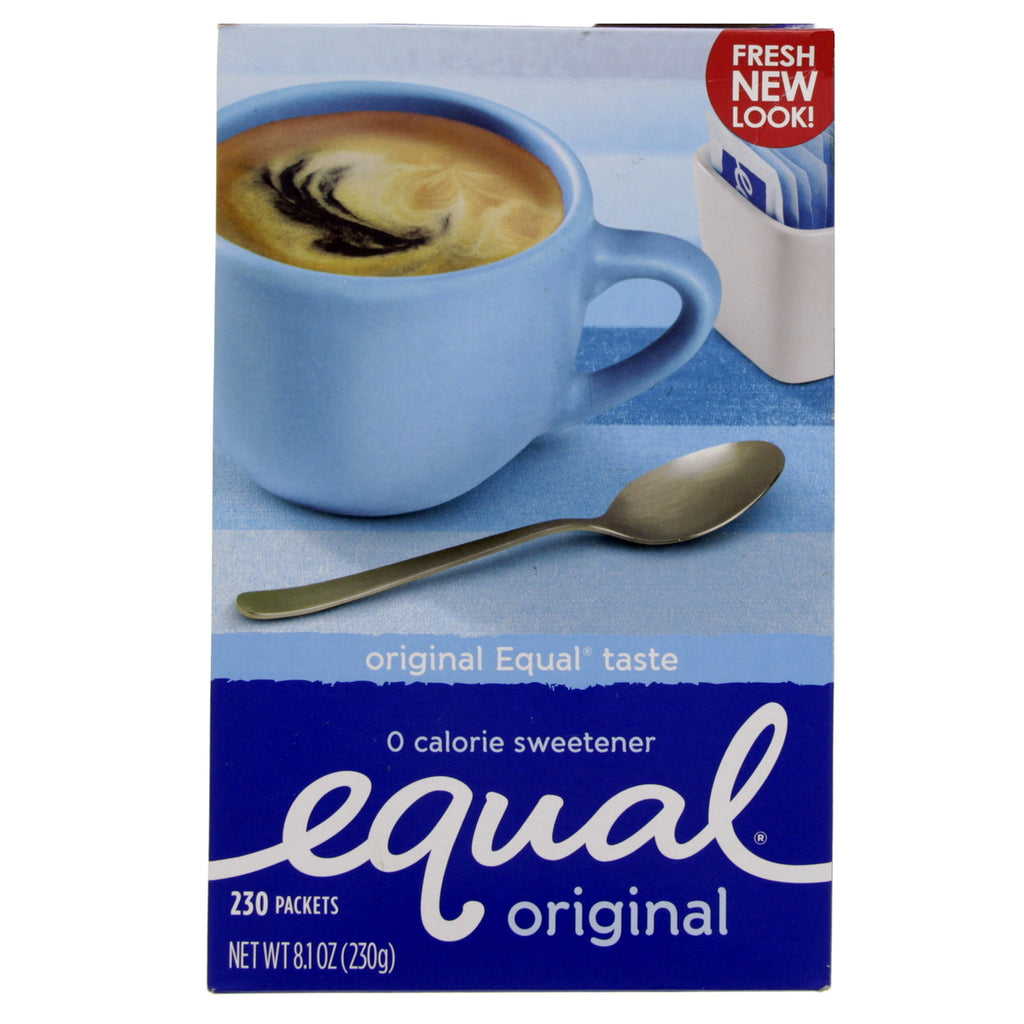 Equal Original Zero Calorie Sweetener 230 Packets