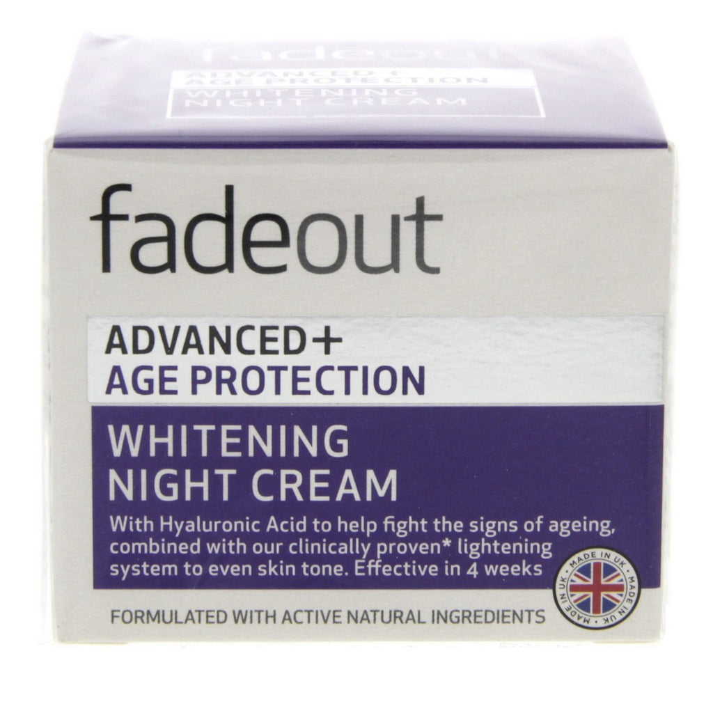 Fade Out Advanced+ Age Protection Whitening Night Cream 50ml