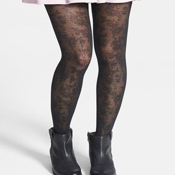 Floral Lace Stunning Style Pantyhose