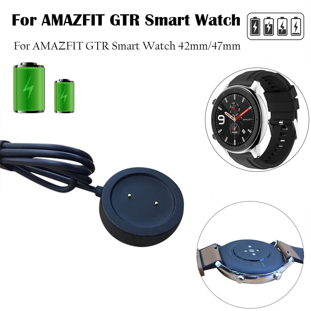 For AMAZFIT GTR Smart Watch 47mm Fast Charger Charging Dock Charger cargador inalámbrico ???????????? ??????? 2019 hot#G30