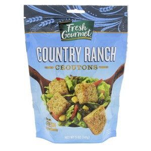 Fresh Gourmet Country Ranch Premium Croutons 142g