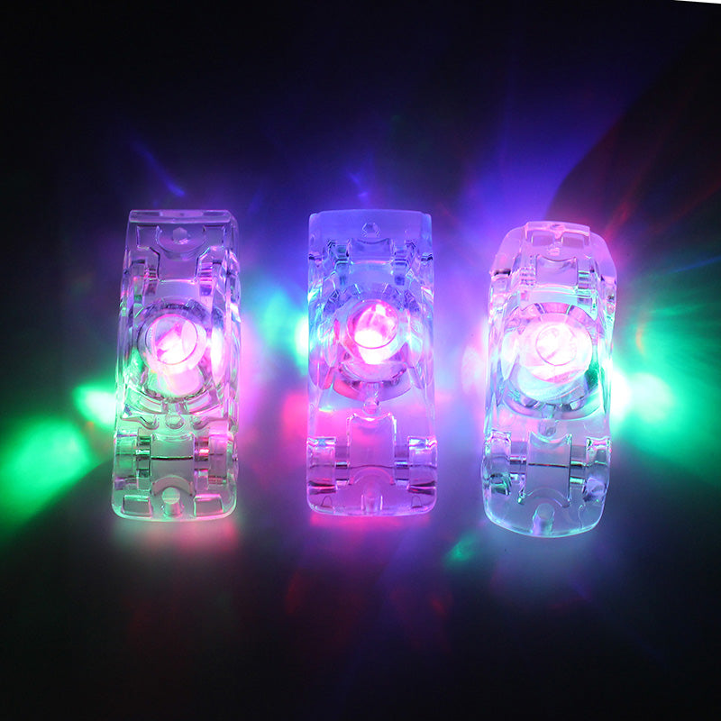 Funny Mini Crystal Flashing Car Toys Friends Children Birthday Gift