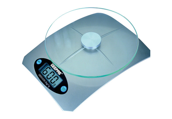 Geepas Digital  Kitchen Scale 5Kg Capacity 1x12