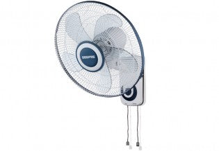 "16""Wall Fan/5Leaf/Oscilation/3 Speed 1x2"