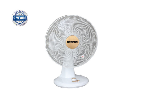 "Geepas 16""Table Fan/5 Blades/3 speed option1x2"