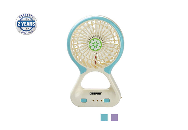 Geepas Rech Mini Fan/StrngWind/Usb intrface1x60