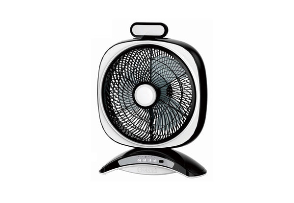 "Geepas 14""Rech Fan/Usb 5VOut/3Spd/7Hrs/20Led1x3"