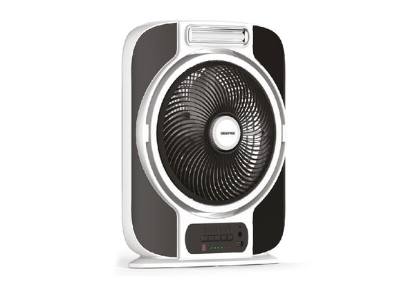 "Geepas 12"" Rechargeable Fan 1x2"