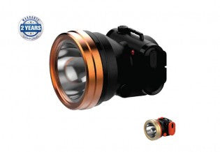 Rech Led Head Lamp/3W Power Led 1x30