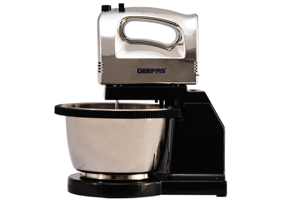 Geepas Chromed Body Hand Mixer/Bowl/5Speed 1X6