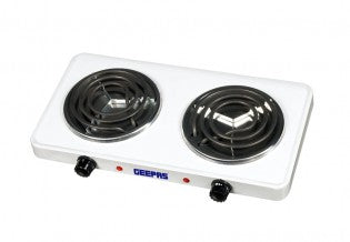 Ele.Double Hot Plate/Chromedrip Pans 1X6
