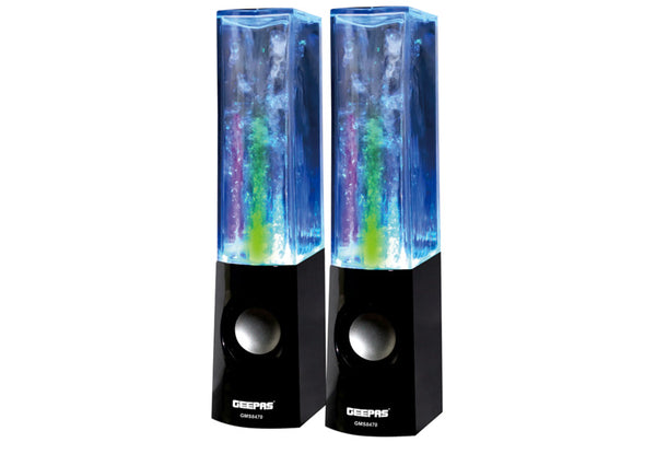 Geepas 2.0 Mini Water Dancing Usb Spkr