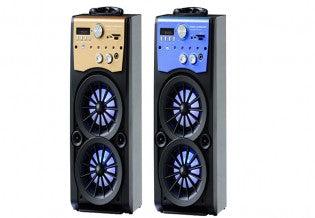 Mini Port Bat Krk Spkr/Usb/Sd/Fm/Bt 1x8