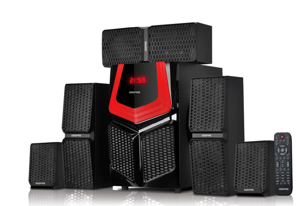 Geepas 5.1 Channel Multimedia Speaker